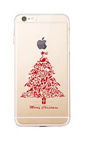 Para Transparente / Diseños Funda Cubierta Trasera Funda Navidad Suave TPU para AppleiPhone 7 Plus / iPhone 7 / iPhone 6s Plus/6 Plus /
