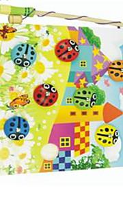 Doen alsof-spelletjes Noviteit Vierkant Hout Regenboog Voor jongens Voor meisjes