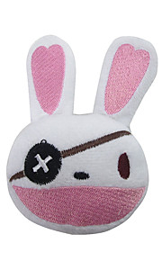 Headpiece Innoittamana Date A Live Yoshino Anime Cosplay-Tarvikkeet Headpiece Valkoinen Puuvilla Uros / Naaras / Lapsi