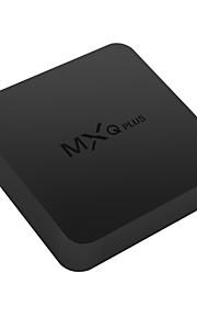 mxq mais Amlogic S905 android 5.1.1 caixa de Smart TV 4K hd núcleo 1g ram 8g rom quad wi-fi preto