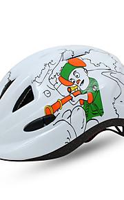 Børn Unisex Bike Hjelm N/A Ventiler Sykling Sykling Veisykling Vintersport En størrelse EPS+EPU Hvit Blå