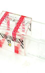 Acessórios de Magia Hobbies de Lazer Quadrangular Plástico Vermelho Para Meninos Para Meninas 8 a 13 Anos 14 Anos ou Mais