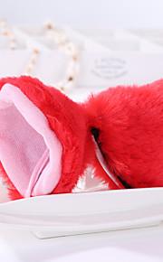 Headpiece Innoittamana Cosplay Cosplay Anime Cosplay-Tarvikkeet Headpiece Musta / Punainen / Violetti / Pinkki / Harmaa PuuvillaUros /