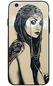 Para Diseños Funda Cubierta Trasera Funda Chica Sexy Suave Acrílico para AppleiPhone 7 Plus / iPhone 7 / iPhone 6s Plus/6 Plus / iPhone