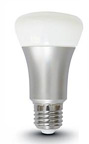 7W E26/E27 LED-bollampen SMD 5730 560 lm Warm wit Koel wit Dimbaar Op afstand bedienbaar Decoratief AC 100-240 V 1 stuks
