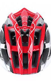 남여 공용 자전거 헬멧 N/A 통풍구 싸이클링 사이클링 산악 사이클링 도로 사이클링 레크리에이션 사이클링 원 사이즈 EPS+EPU 레드