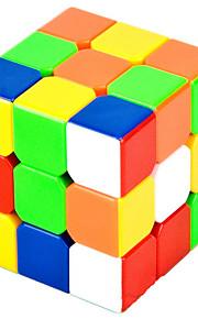 Legetøj Glat Speed Cube 3*3*3 Originale Minsker stress / Magiske terninger Regnbue ABS