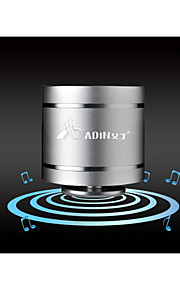 adin D3 super sound mini 5W alta fedeltà altoparlante di vibrazione 3.5mm in / out fm speaker vibrante 360 ​​hifi arround suono