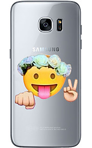 For Samsung Galaxy S6 Edge Plus S6 S7 Edge S7 Fist expression Soft Material For Compatibility TPU