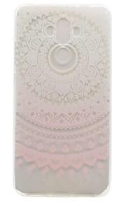 ל תבנית מגן כיסוי אחורי מגן פרח רך TPU ל Huawei Huawei Y600 Huawei Mate 9