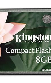 Kingston 8GB Compact Flash CF Card memory card 133X