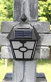 retro ledet solens lys utendørs hage Solar LED vegglampe vanntett pathway Solar LED gatelys gjerde takterrasse belysning