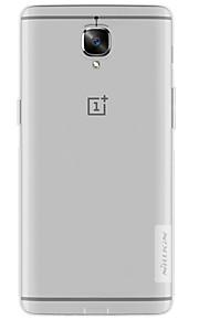 ל אולטרה דק שקוף מגן כיסוי אחורי מגן צבע אחיד רך TPU ל OnePlus One Plus 3 One Plus X