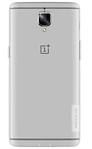 Voor Ultradun Transparant hoesje Achterkantje hoesje Effen kleur Zacht TPU voor OnePlus One Plus 3 One Plus X
