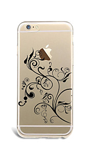 For Flowers Case Back Cover Case Flower Soft TPU for Apple iPhone 7 Plus iPhone 7 iPhone 6s Plus/6 Plus iPhone 6s/6 iPhone SE/5s/5