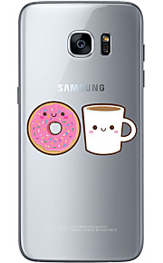 For Samsung Galaxy S6 Edge Plus S6 S7 Edge S7 Afternoon tea Soft Material For Compatibility TPU