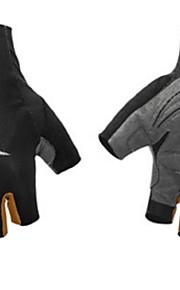 BODUN /SIDEBIKE® スポーツグローブ フリーサイズ サイクルグローブ 春 夏 秋 冬 サイクルグローブ 高通気性 耐摩耗性 耐久性 反射材 保護 フィンガーレス メッシュ サイクルグローブ レッド ブルー オレンジ サイクリング