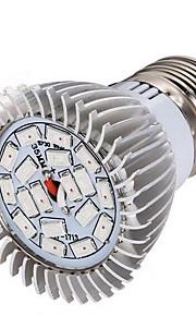 8W E14 GU10 E26/E27 LED 글로우 조명 28 SMD 5730 635-735 lm 레드 블루 V 1개