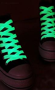 패션 남성 여성 신발 끈 클럽 강조 발광 신발 끈을 실행 빛나는 밤 주도 신발 끈 파티를 불