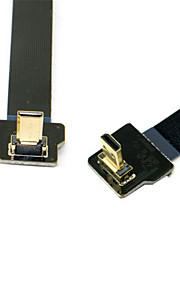 Cy® HDMI Micro-HDMI Micro vergoldet Kabel 1080P 0.1m (0.3Ft)
