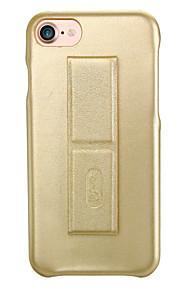 Per Resistente agli urti Con supporto Effetto ghiaccio Custodia Custodia posteriore Custodia Tinta unita Resistente Similpelle per Apple