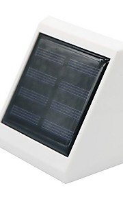 2led solenergi gjerde lys solcelle vegg lampe for hage dekorative