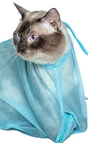 Cat Cleaning Grooming Kits Pet Grooming Supplies Portable Blue Fabric