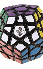 Yongjun® Let Glidende Speedcube MegaMinx Professionelt niveau Magiske terninger Regnbue Sort Fade Ivory glat Sticker /Anti-pop Justerbar