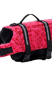 Perros Chaleco salvavidas Rojo Ropa para Perro Verano Británico Deportes