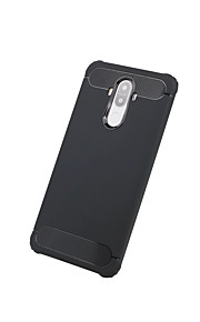 Für Stoßresistent Hülle Rückseitenabdeckung Hülle Einheitliche Farbe Hart Karbon für Huawei Huawei Mate 9