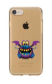 För Genomskinlig Mönster fodral Skal fodral Djur Mjukt TPU för AppleiPhone 7 Plus iPhone 7 iPhone 6s Plus/6 Plus iPhone 6s/6 iPhone