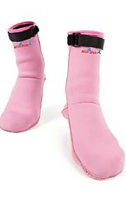 BlueDive® Damskie DZIECIĘCE Skarpety Skafander nurkowy Keep Warm Quick Dry Przeciwpoślizgowe Wet Garnitury 2,5 do 2,9 mm Różowy XS S M