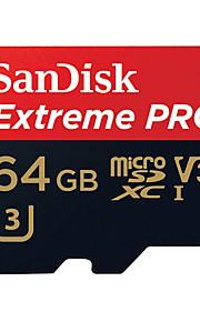 SanDisk 64GB Micro-SD-Karte TF-Karte Speicherkarte UHS-I U3 Class10 V30 Extreme PRO