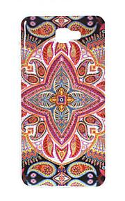 For Samsung Galaxy J7 Prime J5 Prime J3 Prime J3 Prime TPU Material Gold Powder Tribal Four Corners Pattern Phone Case