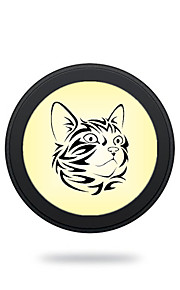 Portable  Black Cat Wireless Charging Pad/Stand for All QI-Enabled Devices Samsung Galaxy S7  S7 Edge S6   S6 EdgeGoogle Nexus 4  5