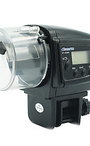 aquariumvissen automatische feeder 30-80g verstelbare feeder 2 * AAA-batterijen