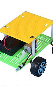 צעצועים לבנים צעצועי דיסקברי צעצועיערכת עשה זאת בעצמך מכונית ABS