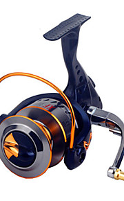 Fishing Reel Spinning Reels 2.6:1 16 Ball Bearings Exchangable General Fishing-XF2000