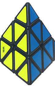 Pyramid Shaped 3*3*4  Smooth Speed Magic Cube Black