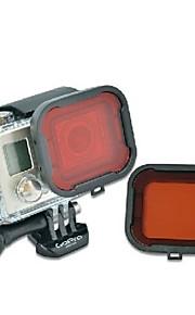 TELESIN GP-FLT-304 Dive Filter For Gopro Hero 3+ Gopro Hero 4 Diving & Snorkeling