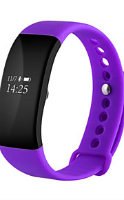 IP68 Waterproof Bluetooth4.0 Heart Rate Monitoring Exercise Step Smart Wearable Bracelet for Android iOS