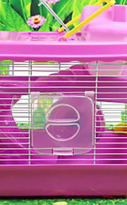 Rodents Cages Plastic White Blue Brown Pink