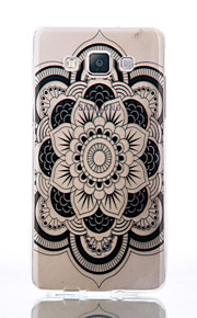 For Samsung Galaxy A510 A5 A310 A3 TPU Material Datura Flowers Patterns Relief Phone Case