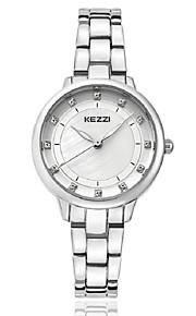 KEZZI Mulheres Relógio de Moda Relógio de Pulso Bracele Relógio Quartzo Quartzo Japonês imitação de diamante Lega BandaCasual Elegantes
