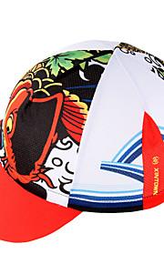 帽子 バイク 高通気性 速乾性 防風 絶縁 バクテリア対応 低摩擦 モイスチャーコントロール ソフト サンスクリーン 女性用 男性用 男女兼用 レッド テリレン