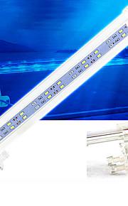 akvarium førte belysning hvid med kontakt (r) førte Lampe 4/6/8 / 10w 220v