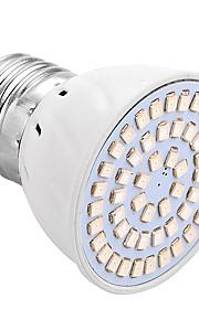 4W E26/E27 LED 글로우 조명 54 SMD 2835 200-300 lm 블루 레드 V 1개