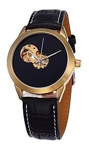 Masculino Mulheres Unissex Relógio Esportivo Relógio Elegante Relógio Esqueleto Relógio de Moda Relógio de Pulso relógio mecânico
