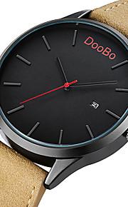 Masculino Mulheres Infantil Unissex Relógio Esportivo Relógio Elegante Relógio de Moda Relógio de Pulso Calendário Quartzo Couro Banda