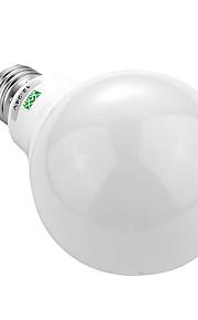 9W E26/E27 LED-bollampen 18 SMD 5730 700-850 lm Warm wit Koel wit Decoratief AC 24 DC 24 DC 12 AC 12 V 1 stuks
